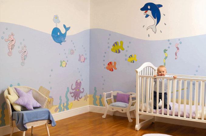 Déco chambre bébé  Bienvenue chez les Marsouines